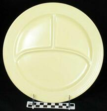 Vintage Fiesta Ivory Divided Compartment Grill Sectional Dinner Plate (HH) 207