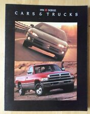 DODGE Range 1994 USA Mkt brochure - Intrepid Viper Stealth Spirit Shadow Dakota