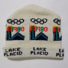 Lake Placid Hat 1980 Olympic Games Knit Stocking Cap Ski Winter