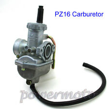 16mm PZ16 Carb Carburetor For 50 70cc 90cc 110cc ATV Quad Dirt Pit Bike Go Kart