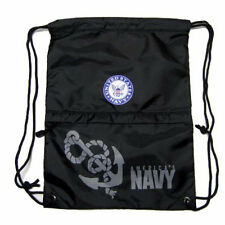 US NAVY AMERICA'S NAVY DRAWSTRING BAG BACKPACK TRAVEL STRING POUCH-BRAND NEW!