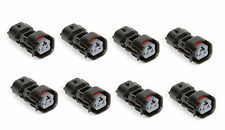 8 x US CAR EV6 FEMALE TO DENSO MALE Fuel Injector Adapter Connector Ev6~Denso