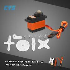 CYS-S8221 9g Titanium Gear Digital Tail Servo for 450 RC Helicopter K8R1