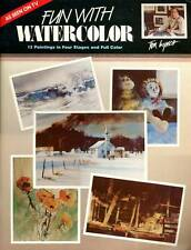 ART INSTRUCTION FUN WITH WATERCOLOR TOM LYNCH