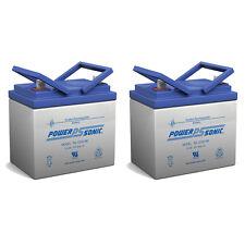Power-Sonic 12V 35AH Light Trolling Motor Sealed Battery Sevylor Minn Kota AGM -