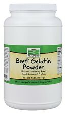 Beef Gelatin Powder Now Foods 4 lbs Powder