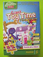 Grafix - 45pcs Giant Toy time Puzzle - Speeltijd - Vloerpuzzel - Jouets