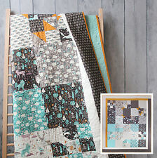 QUILT KIT Camelot Cottons ~ SNOW FALL ~ by Paula Mcgloin