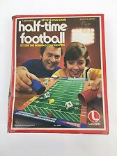 1979 Lakeside's Half-Time Football - Vintage Football Dice Board Game - Complete