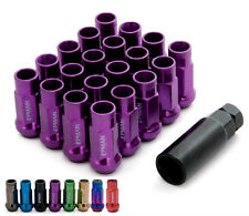 Lug Nuts M12x1.5 Purple Forged Steel 20pcs Lugs Length 48mm Acorn Tuner D1