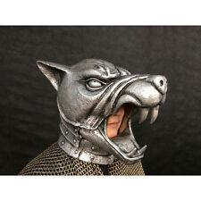 The Hound's Battle Helmet Mask Game Of Thrones Adult HBO Halloween Costume New