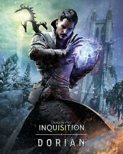 Dragon Age Inquisition Characters Fabric Art Cloth Poster 16inchx13inch Decor14