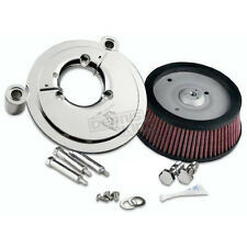 Arlen Ness Natural Big Sucker Stage 1 Perf Air Cleaner Kit without Cover  18-510