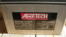 AMP -TECH  DEEP CYCLE SEALED  BATTERIES AT121000DS  120amp AGM  SUPER CHARGE NEW