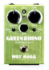 Way Huge Electronics WHE-207 Green Rhino MKIV Overdrive pedal free shipping!