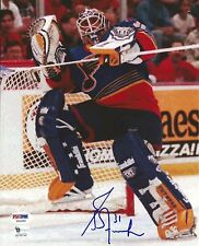 Grant Fuhr Signed Blues 8x10 Photo PSA/DNA COA Picture Hockey Hall of Fame Auto