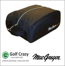 Macgregor Golf Deluxe Canvas Shoe Carry Travel Bag Black