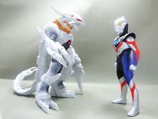 Japan Rare Bandai ULTRAMAN ORB Ultra Monster DX Galaxtron & ORB PVC Figures set