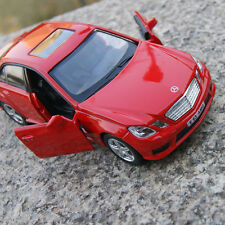 """Mercedes-Benz E63 Alloy Diecast Model Cars 5 """" Red PullBackCar Toys Gifts New"""