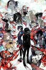 Tokyo Ghoul -Japanese Anime Fabric Art Cloth Poster 20inch x 13inch Decor 13