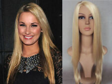 DELUXE SAM TOWIE ESSEX GLAMOUR BARBIE BAYWATCH LONG BLONDE STRAIGHT FASHION WIG