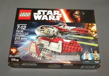 Star Wars LEGO Obi Wan's Jedi Interceptor Set 75135 w R4-P17 NEW Sealed