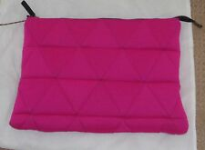FAB! NWT $405 JUNYA WATANABE Comme des Garcons Neoprene Quilted POUCH BAG Pink
