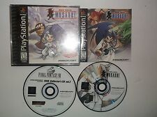 Brave Fencer Musashi (Sony PlayStation 1, 1998) PS1, COMPLETE w/ Manual