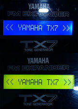 NEW LCD for Yamaha TX7 DIY Replacement Display Upgrade Repair Blue or Green