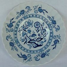 Meakin, J & G Blue Nordic Classic White~Blue Onion Coupe Cereal Bowl 6 1/2""