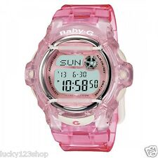 BG-169R-4D Pink Digital Casio Baby-G Watches Lady Resin Band Full Packy Box