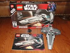 """STAR WARS LEGO #7663 EPISODE I """"SITH INFILTRATOR"""" & MANUAL 2007"""