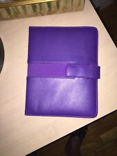 Amazon Kindle Purple Leather Cover - New Without Tags