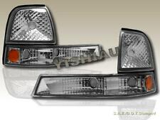1998-2000 FORD RANGER PARK SIGNAL CORNER LIGHTS PAIR EURO CLEAR LENS STYLE