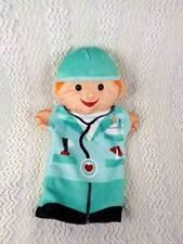 Melissa & Doug Jolly Helpers Doctor Soft Velour Hand Puppet  #92002