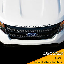 Hood Letters Emblem For  Ford Explorer Sport 2011 2012 2013 2014 2015 2016 2017