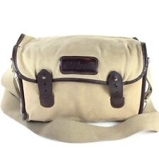 Nikon Tan Canvas Shoulder Bag / Camera Case #40330