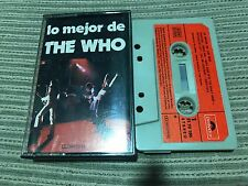 THE WHO TOWNSHEND DALTREY SPANISH CASSETTE TAPE SPAIN BEST LO MEJOR POLYDOR 74