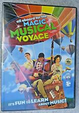 All Aboard for the Magical Musical Voyage DVD - Teaches Music Concepts *SEALED*