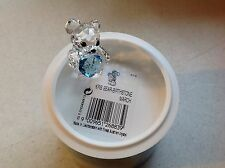 Swarovski Crystal Figurine BIRTHSTONE KRIS BEAR MARCH