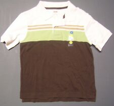 NWT GYMBOREE DOG HANDSOME WHITE GREEN POLO SHIRT SIZE 4
