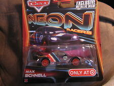 Disney Pixar Cars Neon Racer MAX SCHNELL TARGET ONLY