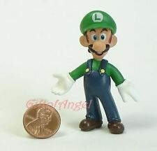 NINTENDO SUPER MARIO BROS LUIGI Figur Statue Spielzeug Standmodell Modell R4