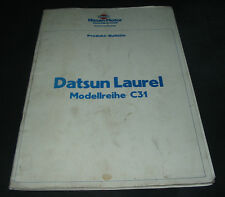 Produktinformation Datsun Laurel Typ C31 Technische Information Bulletin