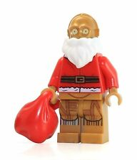 Lego Star Wars 75097 Santa C-3PO Minifigure New