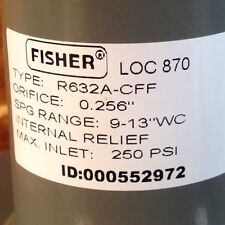 Fisher Propane Integral Two Stage Regulator R632A-Cff with Pol Tank Adapter