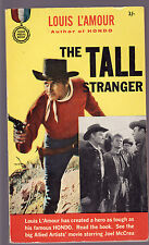 LOUIS L'AMOUR - THE TALL STRANGER     FIRST EDITION