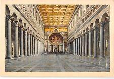 BT1611 roma interno della basilica di s paolo  italy