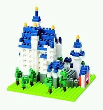 Nano block Famous building model Germany Neuschwanstein 550PC Set RARE