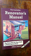 The Australian Renovator's Manual by Alan Staines (Paperback, 2001)